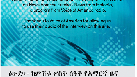 Voice Of America Radio Intervew Oct 2017