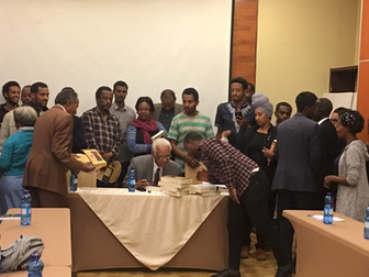 Intergenerational Dialogue - Jupiter Biranna Book Club - Addis Ababa - December 22, 2018