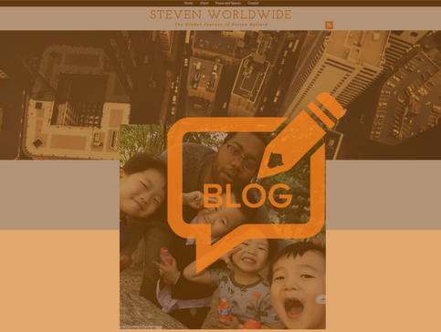 Steven Worldwide, The Blog