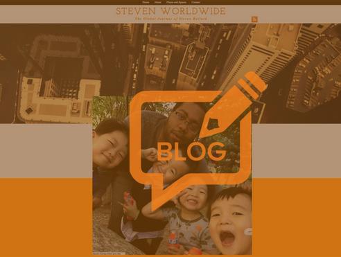 Steven Worldwide, The Blog