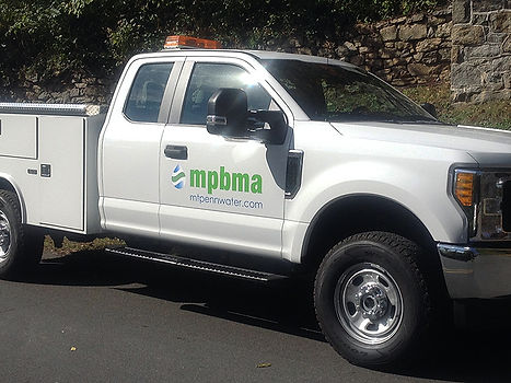 MPBMA Truck Vehicle Lettering