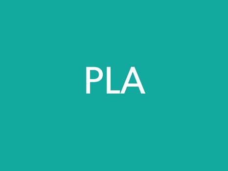 PLA - Material Datasheet