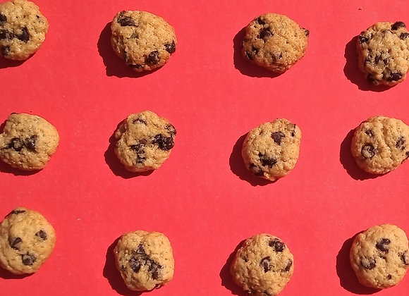 Mini Cookies con chips de chocolate
