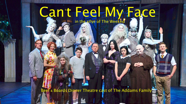 """Cant Feel My Face"" Addams Musicsl Parody"