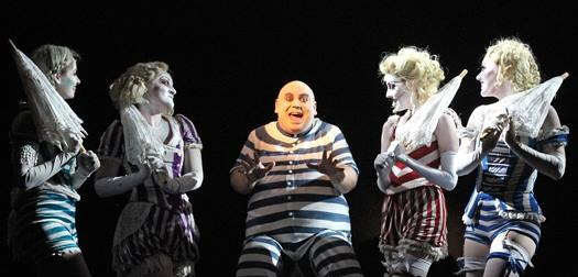Uncle Fester in The Addams Family Musical at The Ogunquit Playhouse