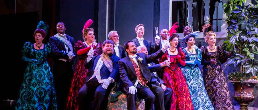 Kromow in The Merry Widow at Saint Pete Opera