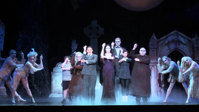 The Addams Family Musical Tour Footage