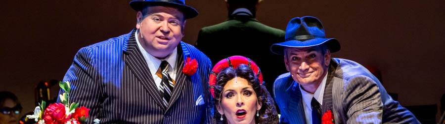 Gangster in Kiss Me Kate at St. Pete Opera
