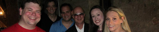 The Cast of Whats Eating You and Paul Shaffer