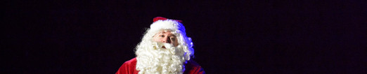 Santa in Elf The Musical at The Alhambra Theatre & Dining