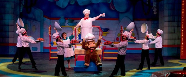 Chef Psghetti in Curious Geroge The Musical 1st National Tour