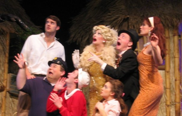 The Skipper in Gilligan's Island The Musical 1st National Tour