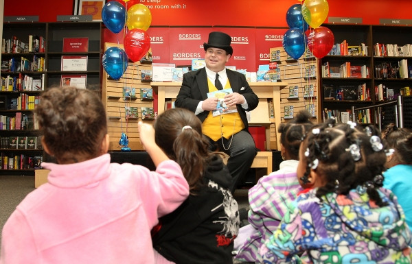 Book reading as Sir Toppham Hatt