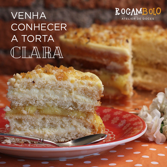 Rocambolo - torta clara