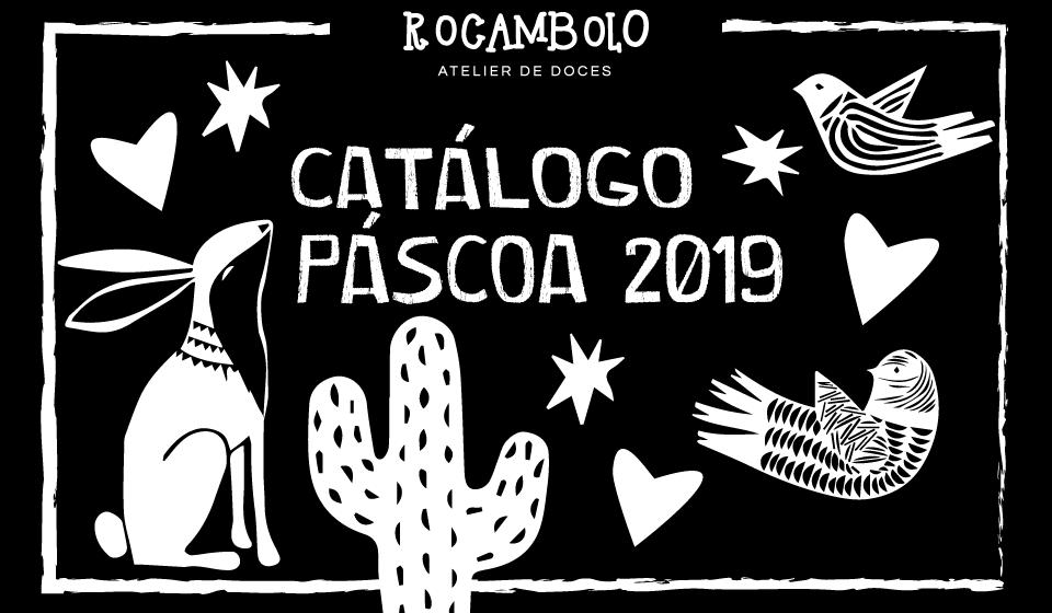 Rocambolo - Catálogo de pascoa
