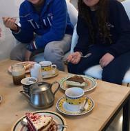 Rocambolo - nosso cafe com torta