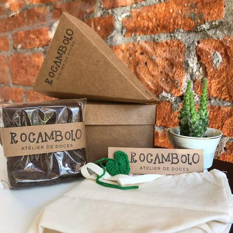 Rocambolo - brownie