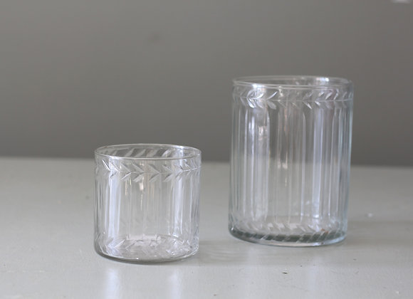 Etched Glass Hurricanes