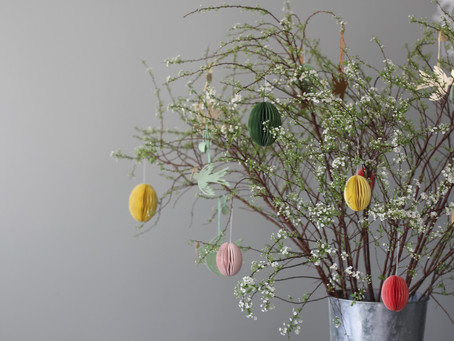 Simple Easter home styling