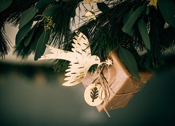 Gold Bird Decoration