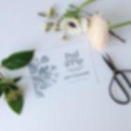 Gift voucher for flower workshops