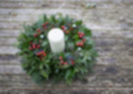 Berry Christams Table Decoration.JPG