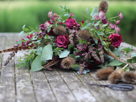 What flowers are available in the autumn?