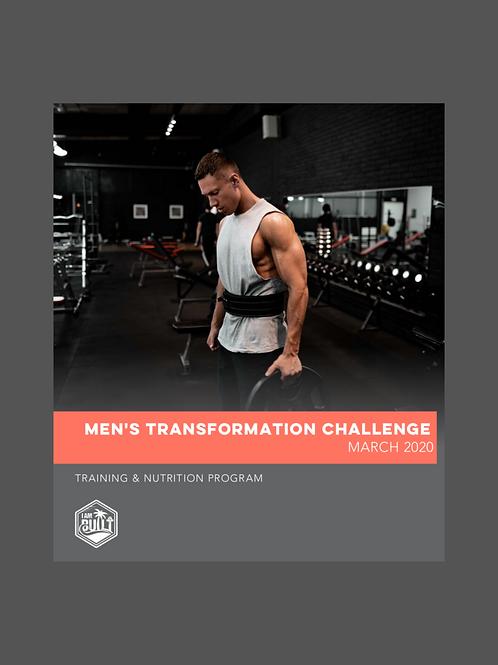 Men's Four Week Challenge - March 9, 2020