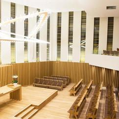 Stella siège au Centre Européen du Judaisme (CEJ)...