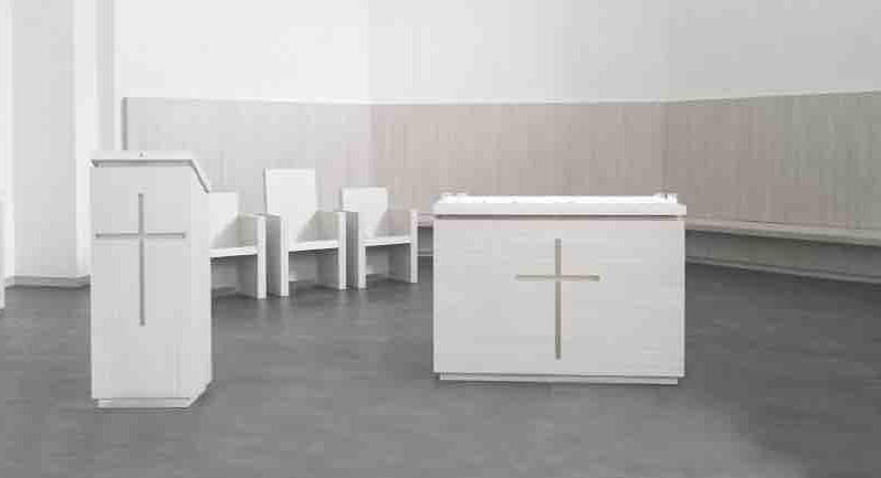 Mobilier de choeur - Basilique du Sacré Coeur de Grenoble
