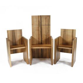Ensemble de fauteuils célébrants
