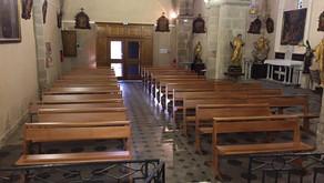 Eglise de Néoules : 22 bancs St Benoit