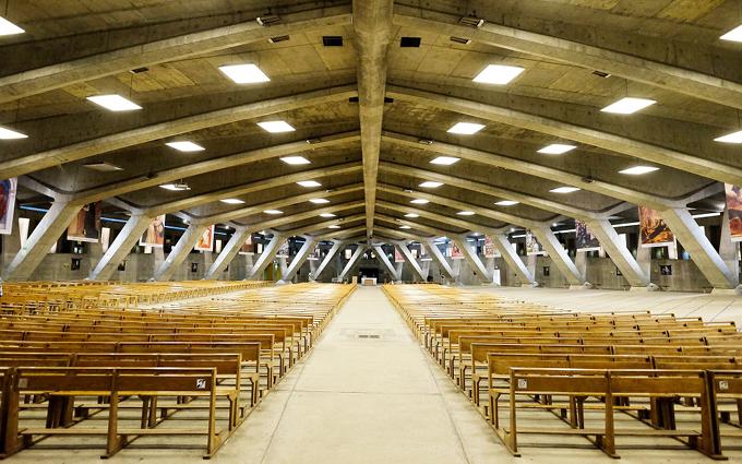 Basilique St Pie X - Lourdes