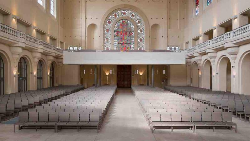 Basilique du Sacré Coeur de Grenoble - Création spécifique en baubuche