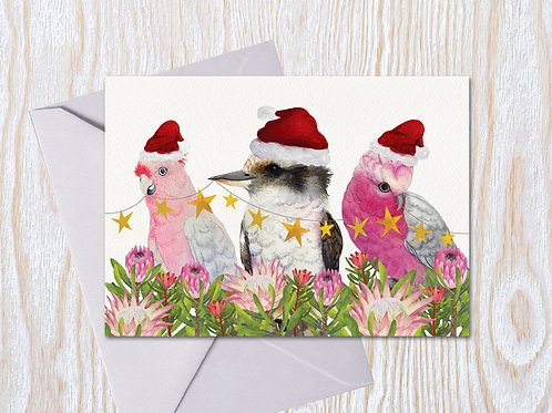 Three Wise Friends - Christmas Card