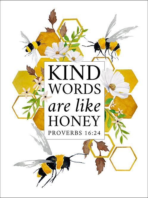 Kind Words - Art Print