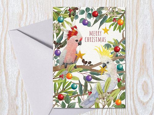 Festive Friends - Christmas Card