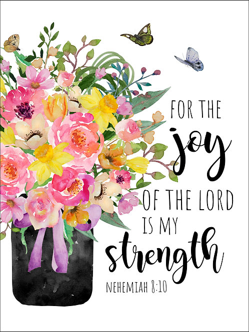 The Joy of the Lord - Art Print
