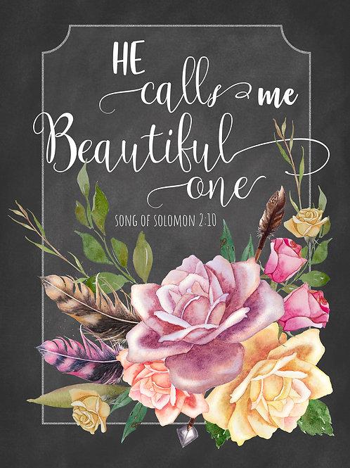 Beautiful One - Art Print