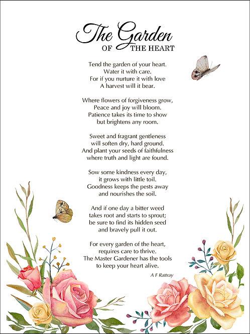 The Garden of the Heart - Art Print