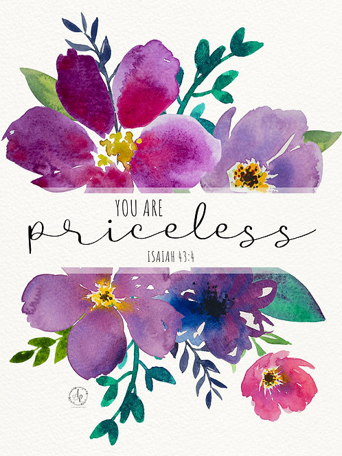 You Are Priceless - Art Print