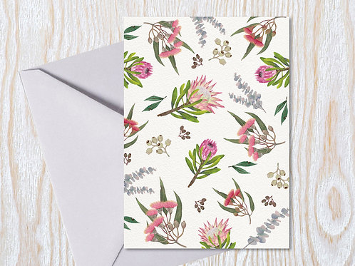 All about Natives - Greeting Card