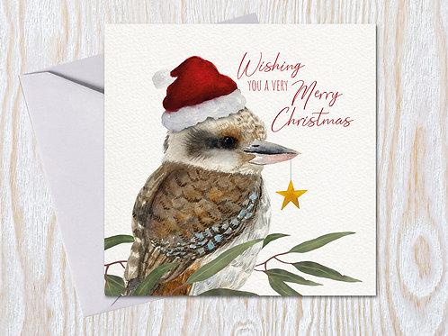 Cheeky Kooka - Christmas Card