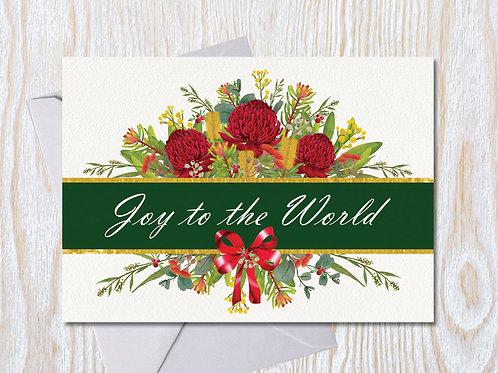 Joy to the World - Christmas Card