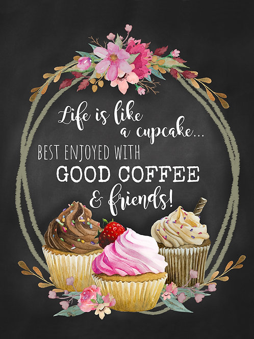 Life is like a Cupcake