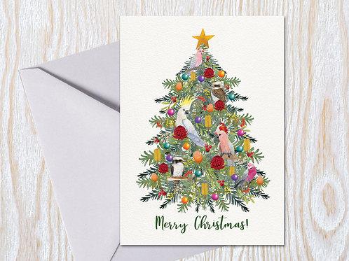 Boughs & Birds - Christmas Card
