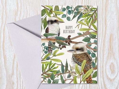 Kookaburra Birthday - Greeting Card