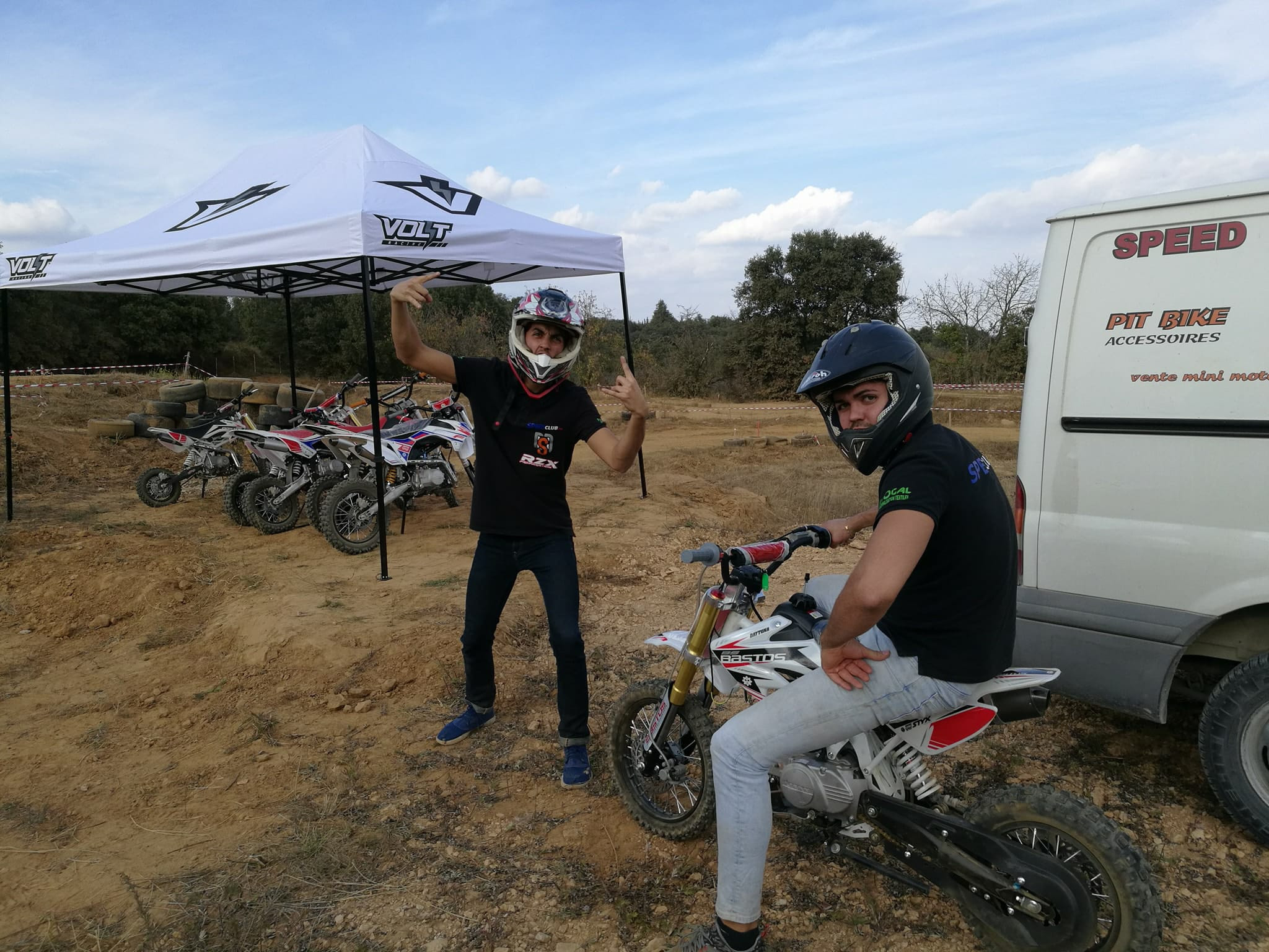 Initiation pitbike