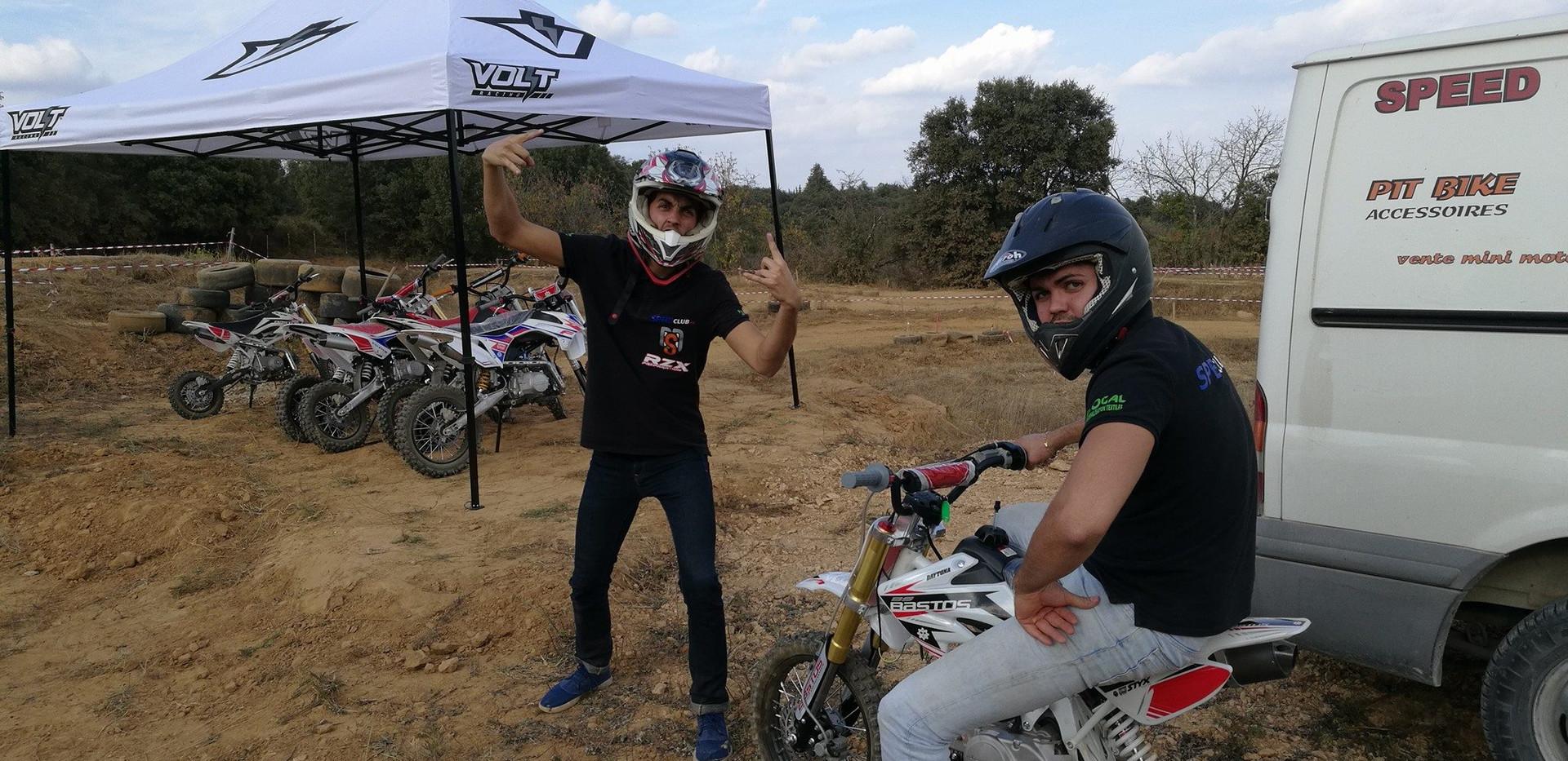Aymeric et Francisco au speedclubtrack.j