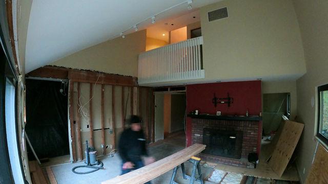 HOH - Living Room Wall Demo